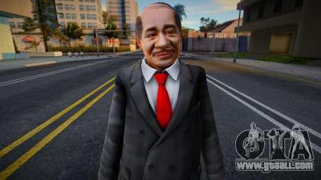 Dead Or Alive 5 - Train Man 3 for GTA San Andreas