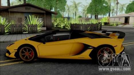 Lamborghini Aventador SVJ Roadster 2020 for GTA San Andreas