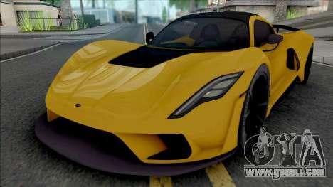 Hennessey Venom F5 2020 for GTA San Andreas