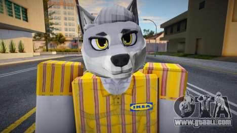 Roblox IKEA Work Wolf for GTA San Andreas