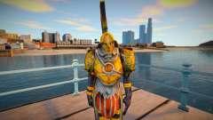 Grunt (Golden Armor) God of War 3 for GTA San Andreas