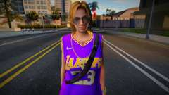 Tina Armstrong Fashion Lakers Ourstorys Jersey 3 for GTA San Andreas