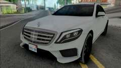 Mercedes-Benz S-Class AMG 2014 Lowpoly