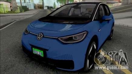 Volkswagen ID.3 2020 for GTA San Andreas