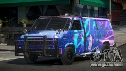 Chevrolet Van Custom S5 for GTA 4