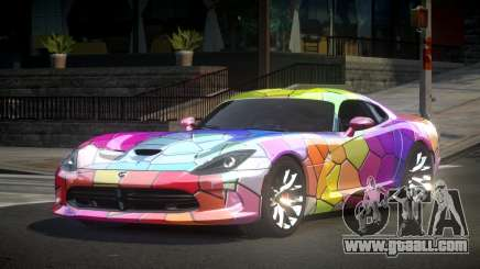 Dodge Viper SRT US S10 for GTA 4
