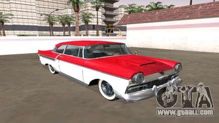 Ford Custom 1956 Coupe (Smith Custom Mafia II) for GTA San Andreas