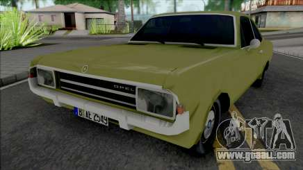 Opel Rekord C Coupe 1969 for GTA San Andreas