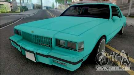 Chevrolet Caprice 1987 (2 Doors) for GTA San Andreas
