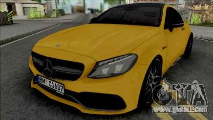 Mercedes-Benz C63 S AMG 2020 for GTA San Andreas