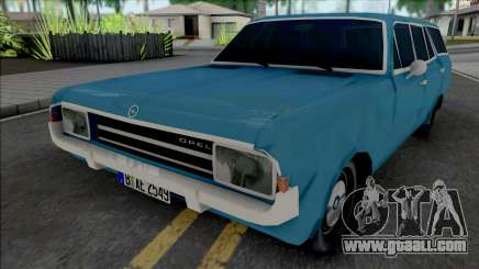 Opel Rekord C Caravan 4 Doors 1969 for GTA San Andreas