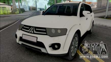 Mitsubishi Pajero Sport (without Plates) for GTA San Andreas