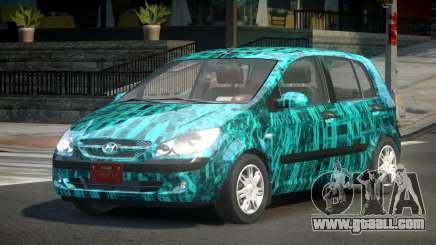 Hyundai Getz GS PJ9 for GTA 4