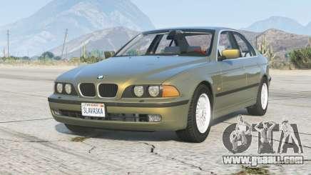 BMW 535i Sedan (E39) 1998〡add-on v1.6 for GTA 5