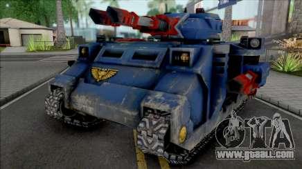 Ultramarines Predator Annihilator for GTA San Andreas