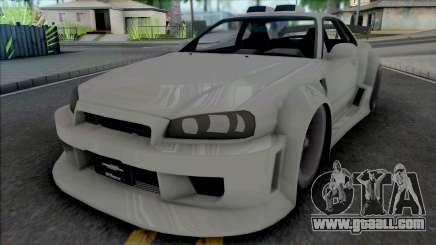 Nissan Skyline GT-R Tuning (NFS Underground 2) for GTA San Andreas