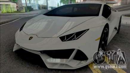 Lamborghini Huracan Evo Coupe 2020 for GTA San Andreas