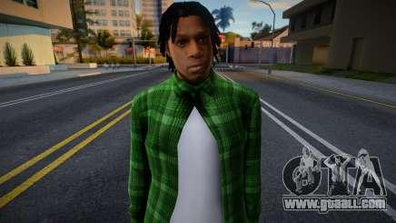 Grove Street Families HD (FAM2) for GTA San Andreas