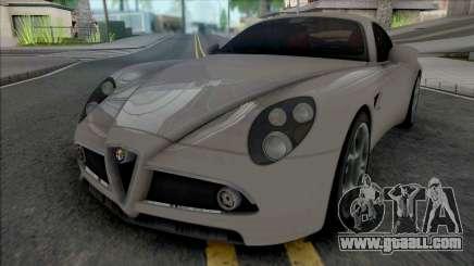 Alfa Romeo 8C Competizione 2007 SA Style for GTA San Andreas