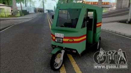 Honda CD80 Mishuk Rickshaw [IVF] for GTA San Andreas