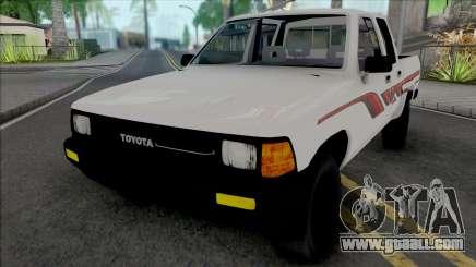 Toyota Hilux 1990 KSA for GTA San Andreas
