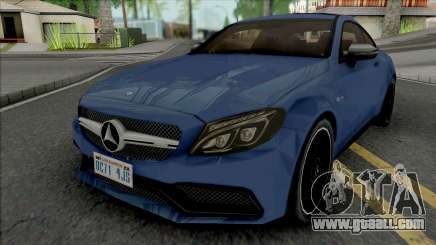 Mercedes-Benz C63 AMG Coupe for GTA San Andreas