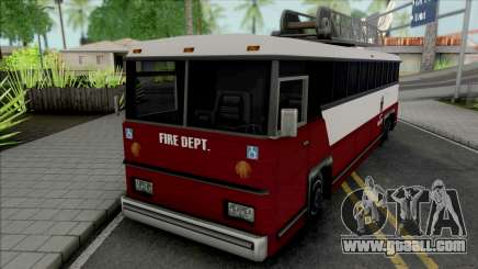 Fire Bus for GTA San Andreas