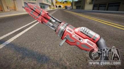 [Renegade] Laser Chaingun for GTA San Andreas