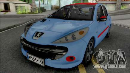Peugeot 207 New Style for GTA San Andreas