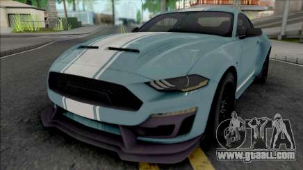 Ford Mustang Shelby Super Snake 2019 [HQ] for GTA San Andreas