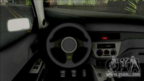 Mitsubishi Lancer Evolution IX MR Edition 2006 for GTA San Andreas
