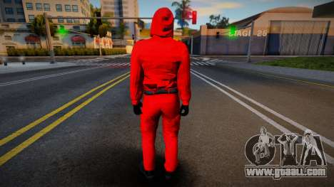 Squid Game Guard 1 for GTA San Andreas