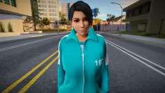 DOA Momiji Fashion Casual Squid Game N192 for GTA San Andreas