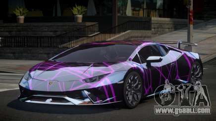 Lamborghini Huracan Qz S1 for GTA 4