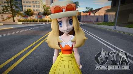 EX Serena from Pokemon Masters for GTA San Andreas
