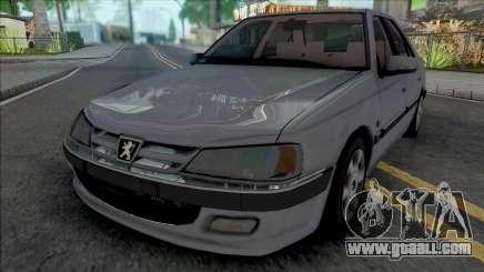 Peugeot Pars TU5 Grey for GTA San Andreas