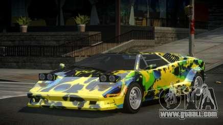 Lamborghini Countach 25th S1 for GTA 4