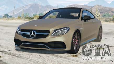 Mercedes-AMG C 63 Coupe (C205) 2016〡add-on for GTA 5