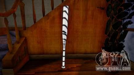 White baseball bat for GTA San Andreas