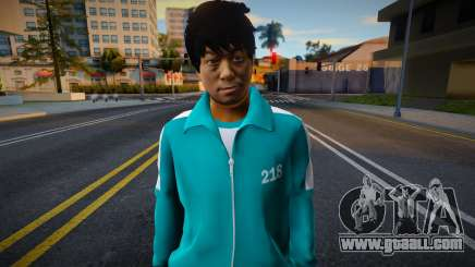 Male Random Tracksuit 218 Squid Game for GTA San Andreas