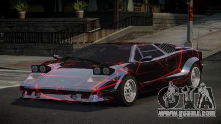 Lamborghini Countach 25th S10 for GTA 4
