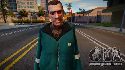 Niko Bellic Lsd for GTA San Andreas