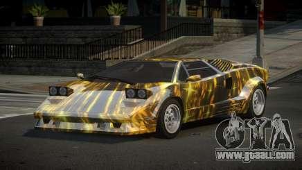 Lamborghini Countach 25th S4 for GTA 4