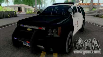 Chevrolet Tahoe 2008 LAPD for GTA San Andreas