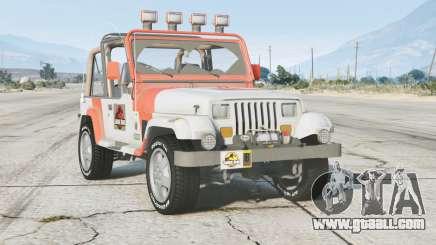Jeep Wrangler Jurassic Park (YJ) 1993〡add-on v0.3 for GTA 5