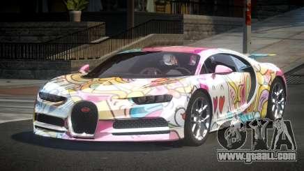 Bugatti Chiron U-Style S5 for GTA 4