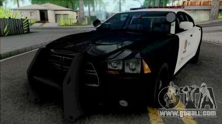 Dodge Charger 2013 LAPD for GTA San Andreas
