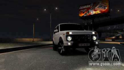 Armenian Niva 2121 Urban for GTA 4
