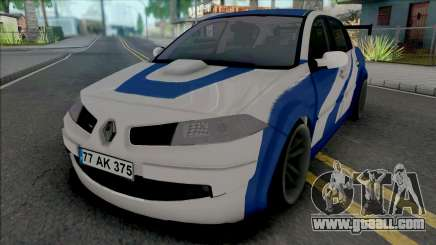 Renault Megane GTR (MRT) for GTA San Andreas